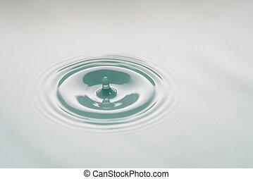 macro photo of water drop