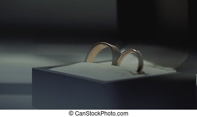 macro, pousse, anneaux, or, closeup, lensflare, mariage,...