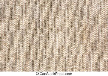 macro, sackcloth, natural, textura