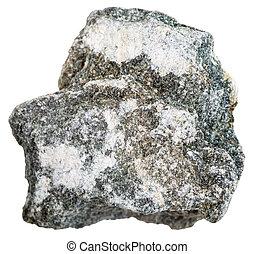 soapstone (steatite, soaprock) mineral isolated - macro ...