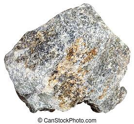 soapstone (steatite, soaprock) stone isolated - macro ...