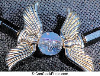 wings charm