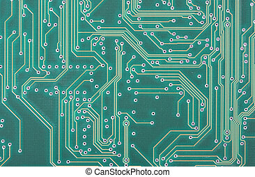 macro shot of a circuit board, fantastic for technology backgrounds