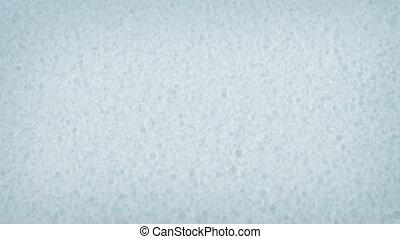 Macro Shot Passing Salt Granules - Closeup shot moving...