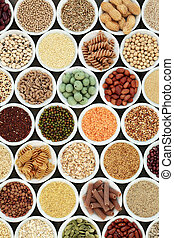 Macrobiotic Health Food - Macrobiotic health food with...