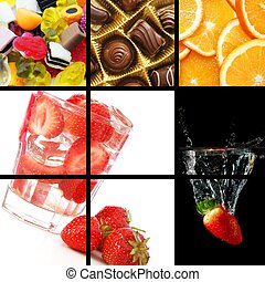 mad drink, collage
