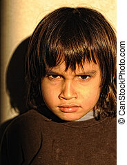 Mad furious kid