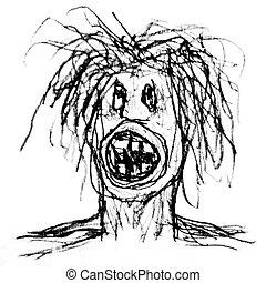 Mad Men Raster Illustration