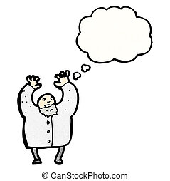 mad scientist cartoon