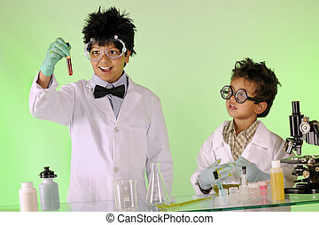 Mad Scientists at Work