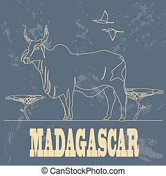 Madagascar infographics, statistical data, sights....