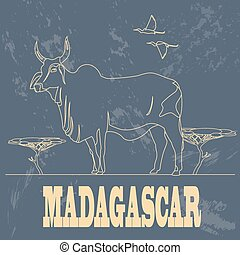 Madagascar infographics, statistical data, sights....