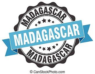 Madagascar round ribbon seal