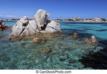 Maddalena Islands - Sardinia - Italy - The Maddalena...