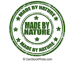 Made By Nature-stamp