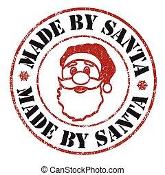 Made by Santa stamp
