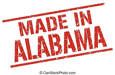 made in Alabama stamp