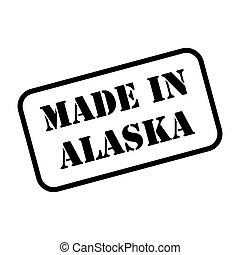 Made In Alaska Stamp Vector