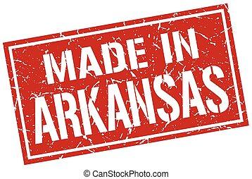 made in Arkansas stamp