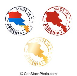 made in Armenia stamp