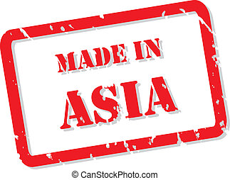 Made In Asia Stamp