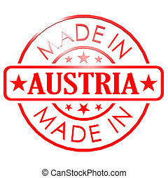 Made in Austria red seal