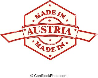 Made in Austria red seal icon