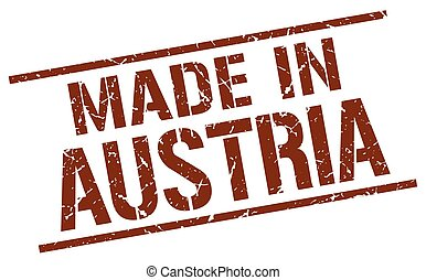 made in Austria stamp