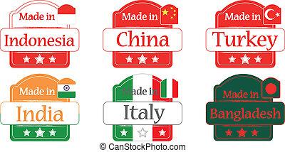 Made in Bangladesh-China - Keywords: approximate, asia,...