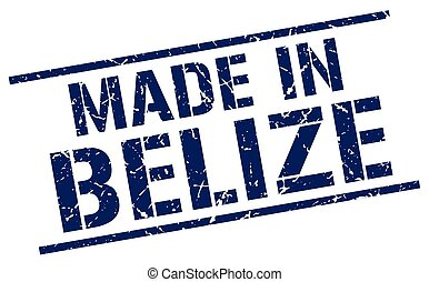 made in Belize stamp
