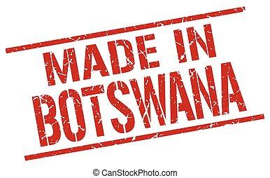 made in Botswana stamp