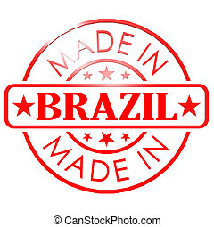 Made in Brazil red seal