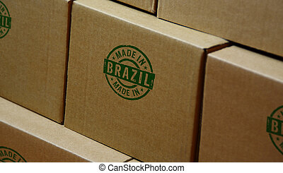 Made in Brazil stamp and stamping - Made in Brazil stamp ...