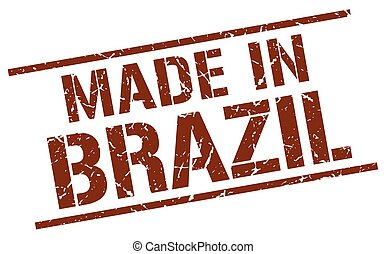 made in Brazil stamp