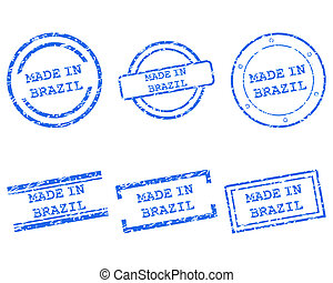 Made in Brazil stamps