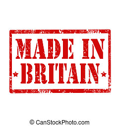 Made In Britain-stamp