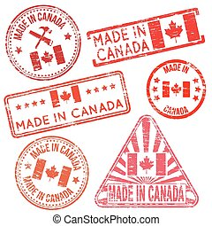 Made In Canada Rubber Stamps