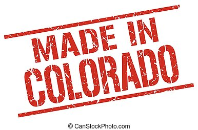 made in Colorado stamp