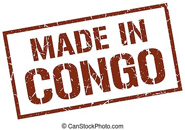 made in Congo stamp