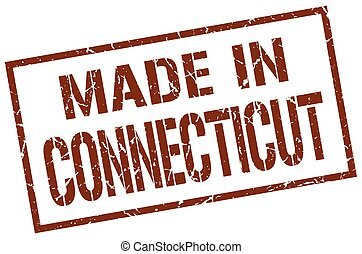 made in Connecticut stamp
