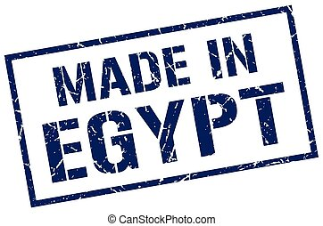 made in Egypt stamp