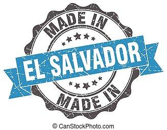 made in El Salvador round seal