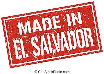 made in El Salvador stamp