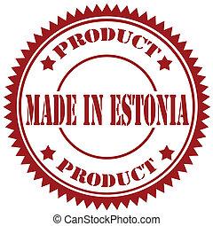 Made In Estonia-stamp