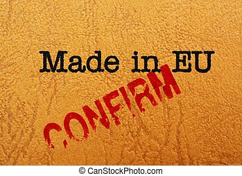 Made in EU cofirm