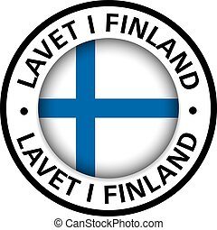 made in Finland flag icon