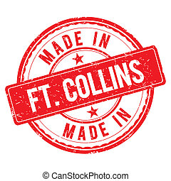 Made in FT-COLLINS stamp