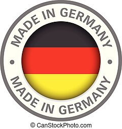 made in germany flag icon
