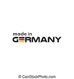 Made in germany logo design template - Made in germany logo ...