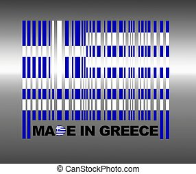Made in greece. - Barcode Greece.